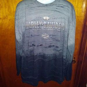 Harley Davidson Shirt Long Sleeve Mens XLarge